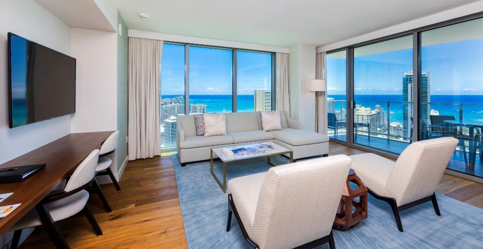 ワイキキ  The Ritz-Carlton Residences Waikiki #3010